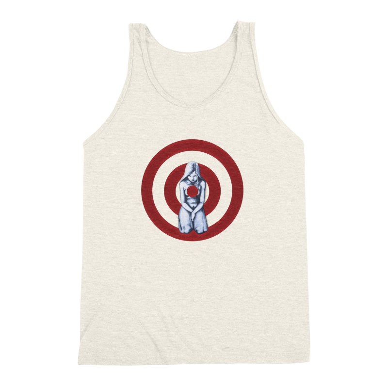 Marked - Get Your Sights Off My Rights Men's Triblend Tank by Revolution Art Offensive