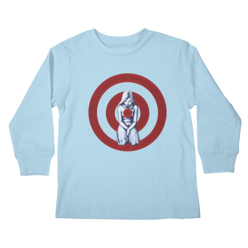 Marked - Get Your Sights Off My Rights Kids Longsleeve T-Shirt by Revolution Art Offensive