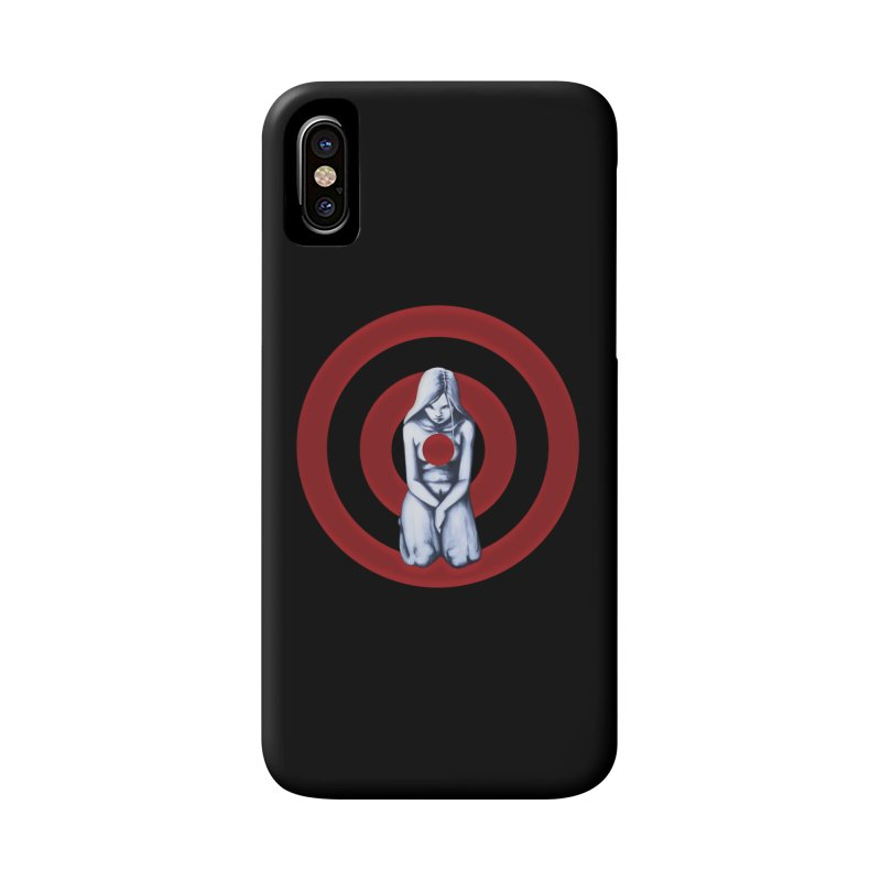 Marked - Get Your Sights Off My Rights Accessories Phone Case by Revolution Art Offensive