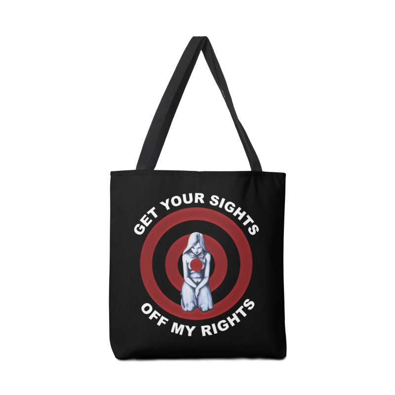 Marked - Get Your Sights Off My Rights - Text Accessories Bag by Revolution Art Offensive
