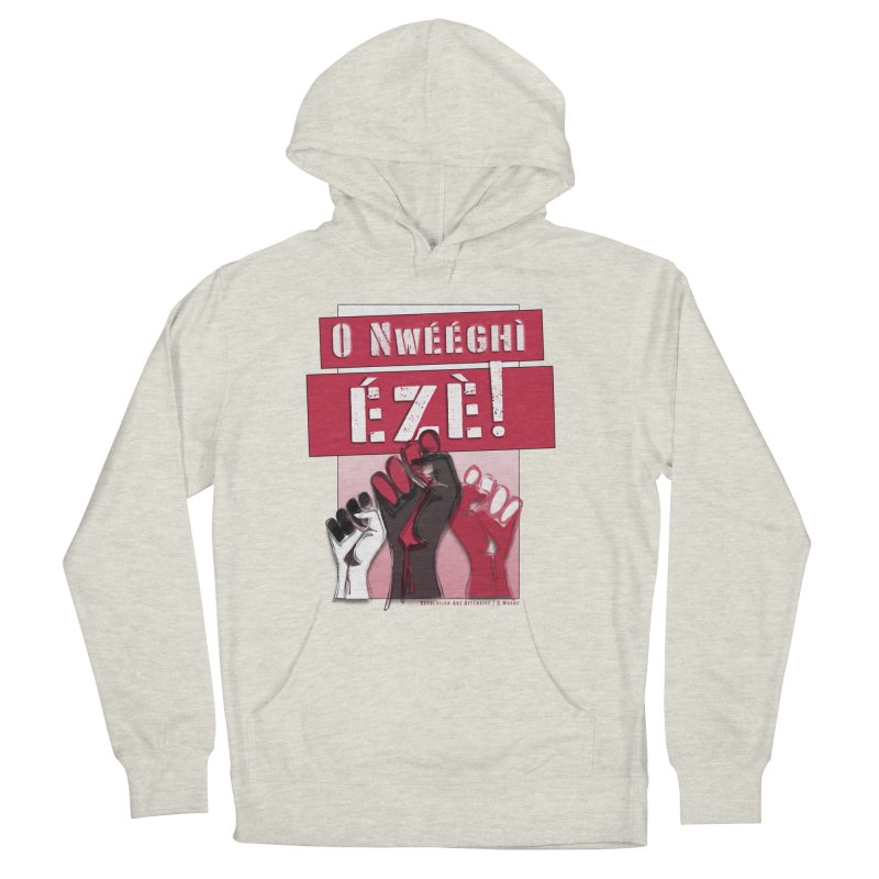 No Place for Kings in Igbo Men's French Terry Pullover Hoody by Revolution Art Offensive
