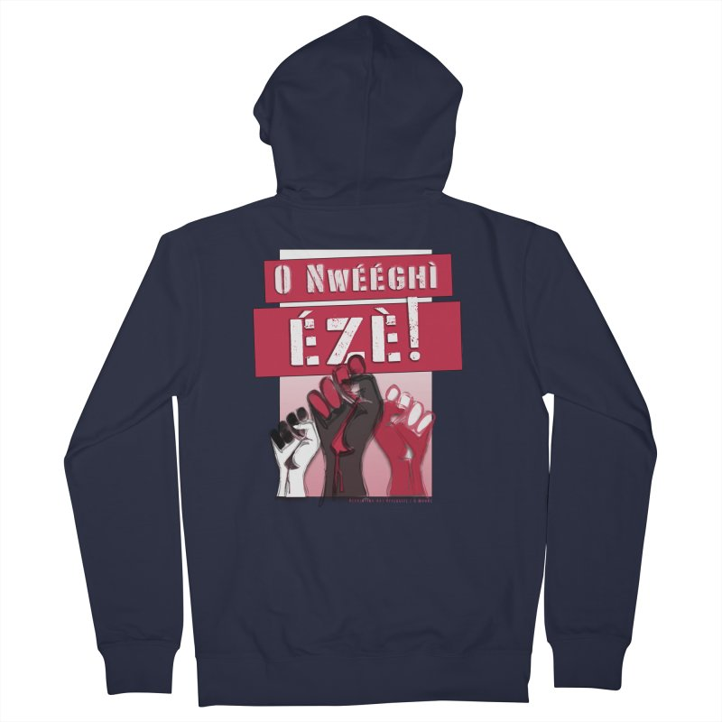 No Place for Kings in Igbo Women's Zip-Up Hoody by Revolution Art Offensive