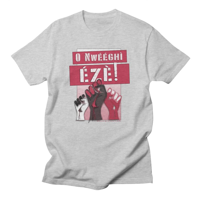 No Place for Kings in Igbo Men's T-Shirt by Revolution Art Offensive