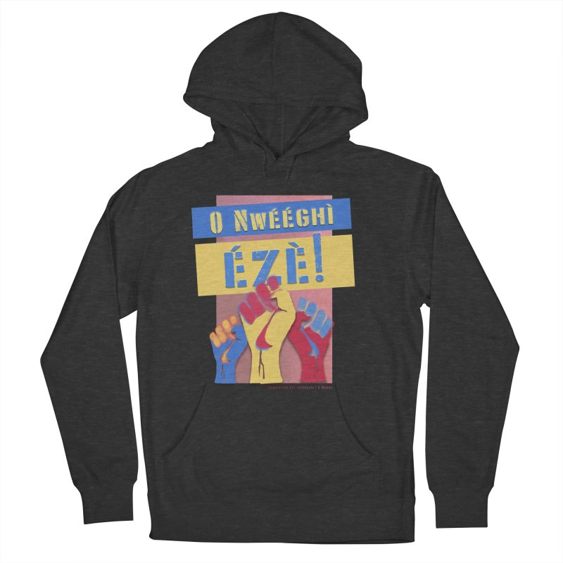 No Place for Kings Igbo in Color Men's French Terry Pullover Hoody by Revolution Art Offensive