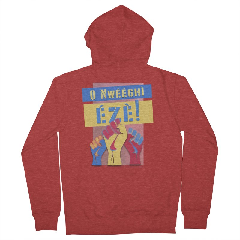 No Place for Kings Igbo in Color Men's Zip-Up Hoody by Revolution Art Offensive