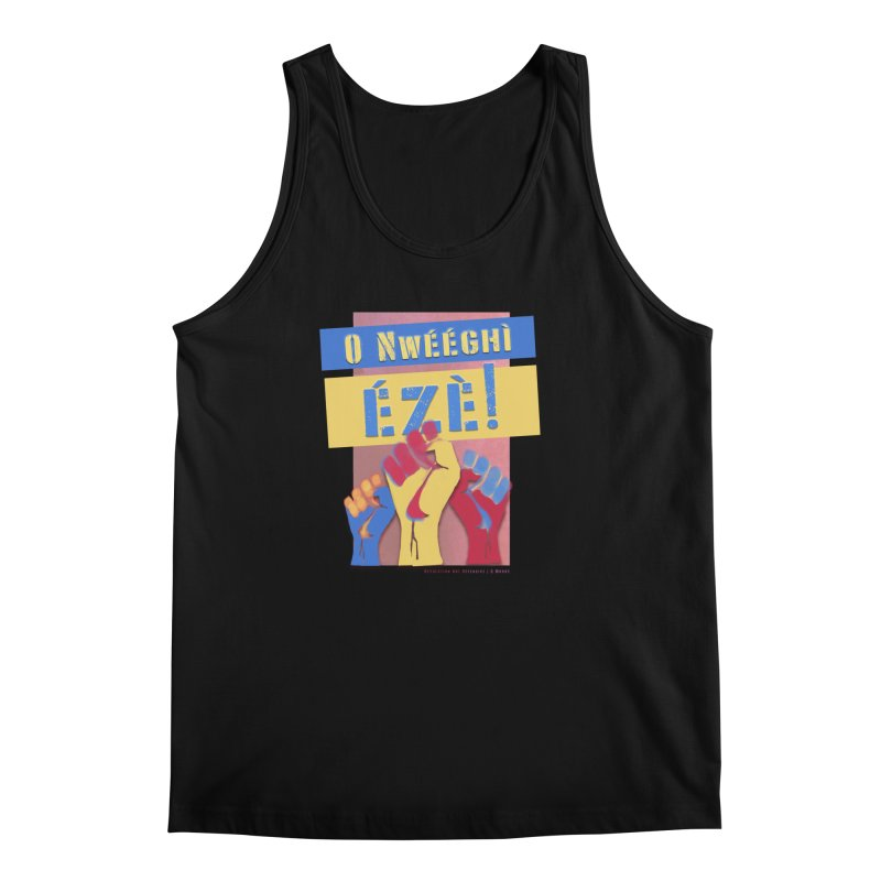 No Place for Kings Igbo in Color Men's Tank by Revolution Art Offensive