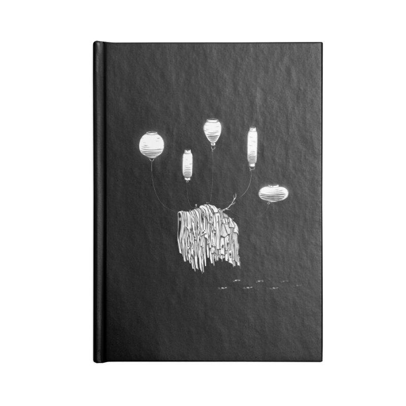Lantern Monster 1 Accessories Notebook by REWFOE