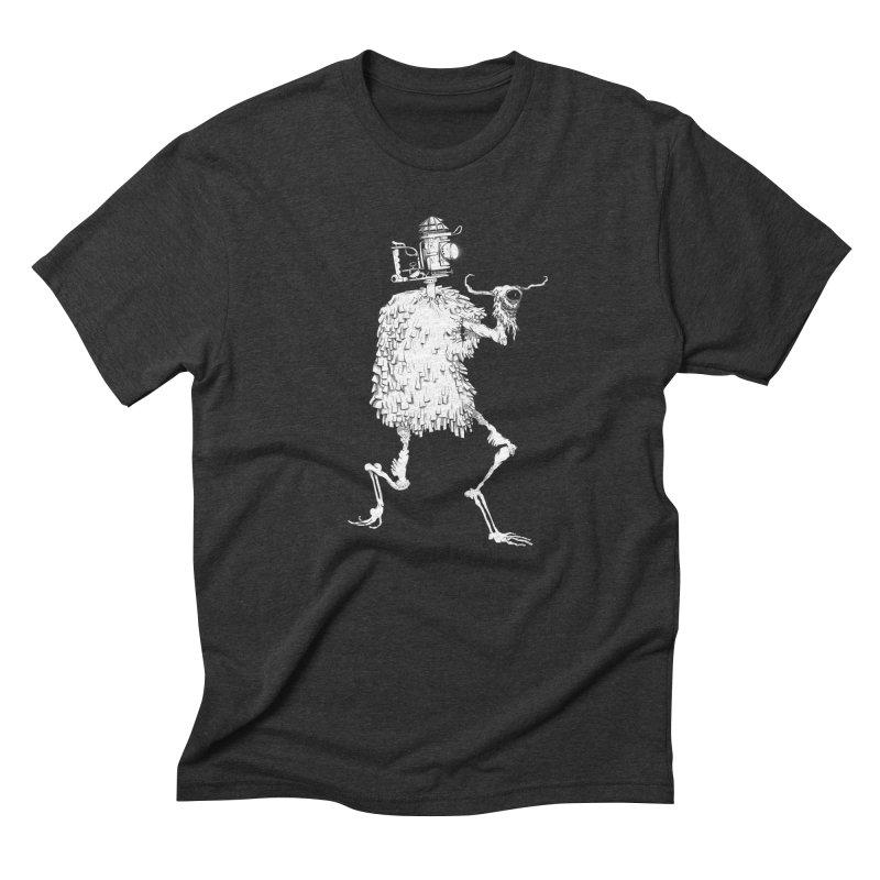 Lantern Monster 2 Men's Triblend T-Shirt by REWFOE