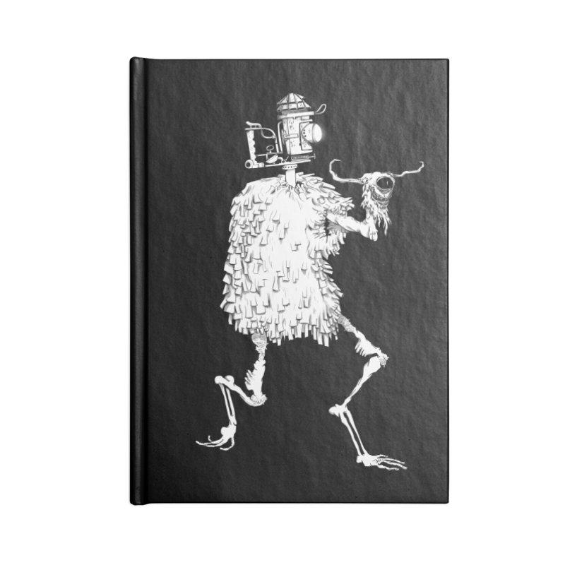Lantern Monster 2 Accessories Notebook by REWFOE