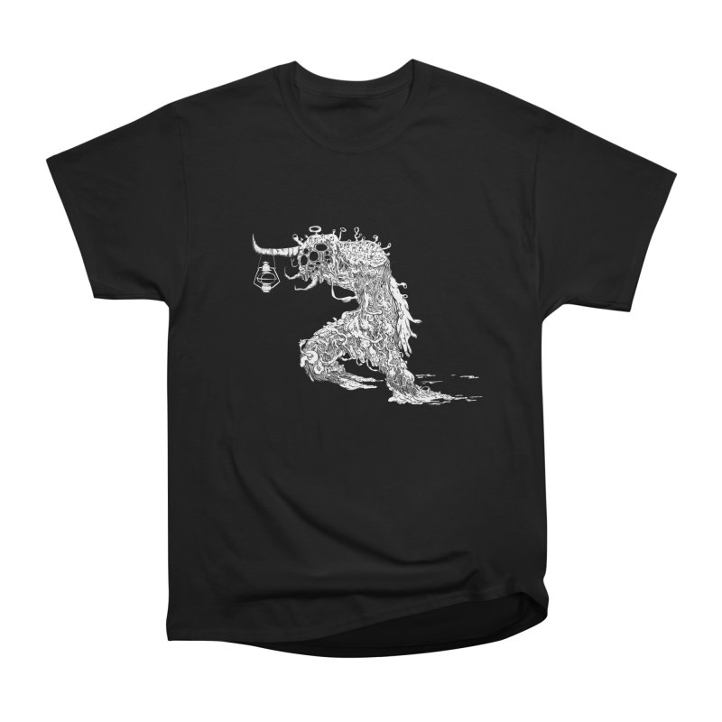 Lantern Monster 4 Men's Classic T-Shirt by REWFOE