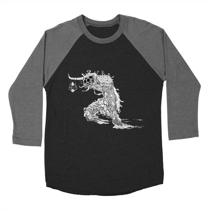 Lantern Monster 4 Men's Baseball Triblend T-Shirt by REWFOE
