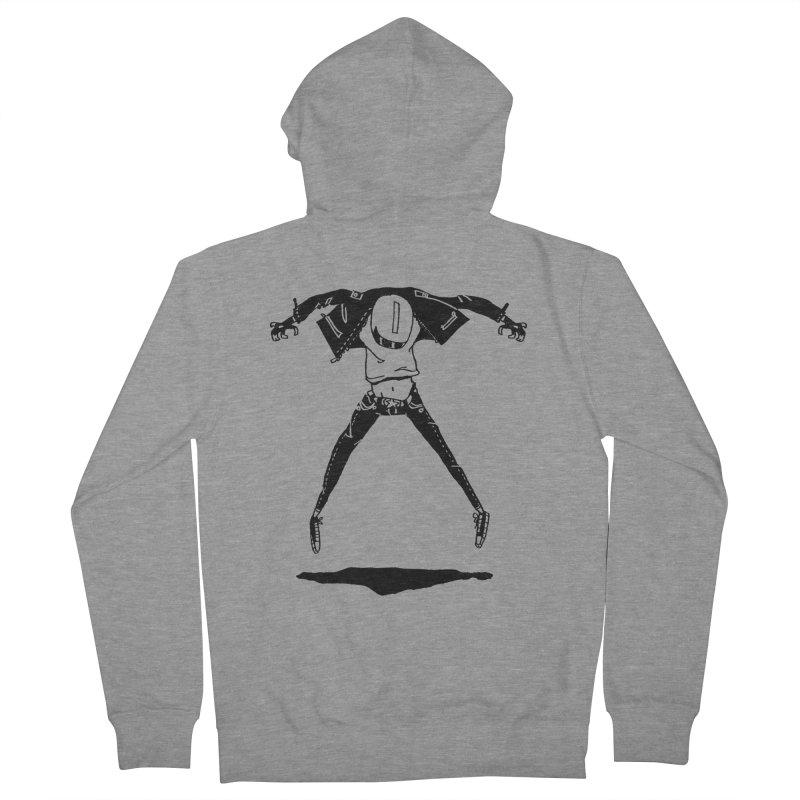 Jumper Guy Men's Zip-Up Hoody by REWFOE
