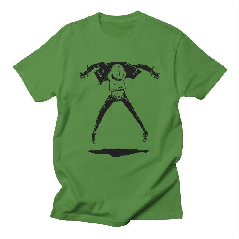 Jumper Guy Men's T-shirt by REWFOE