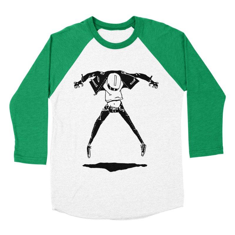Jumper Guy Women's Baseball Triblend T-Shirt by REWFOE