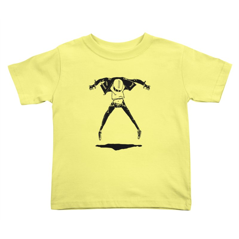 Jumper Guy Kids Toddler T-Shirt by REWFOE
