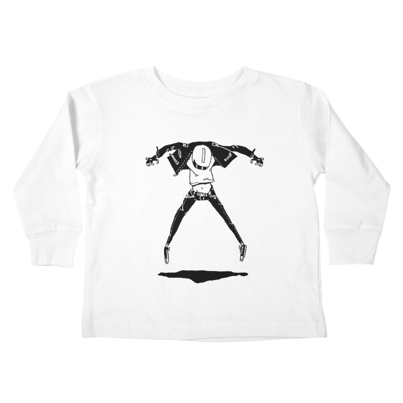 Jumper Guy Kids Toddler Longsleeve T-Shirt by REWFOE