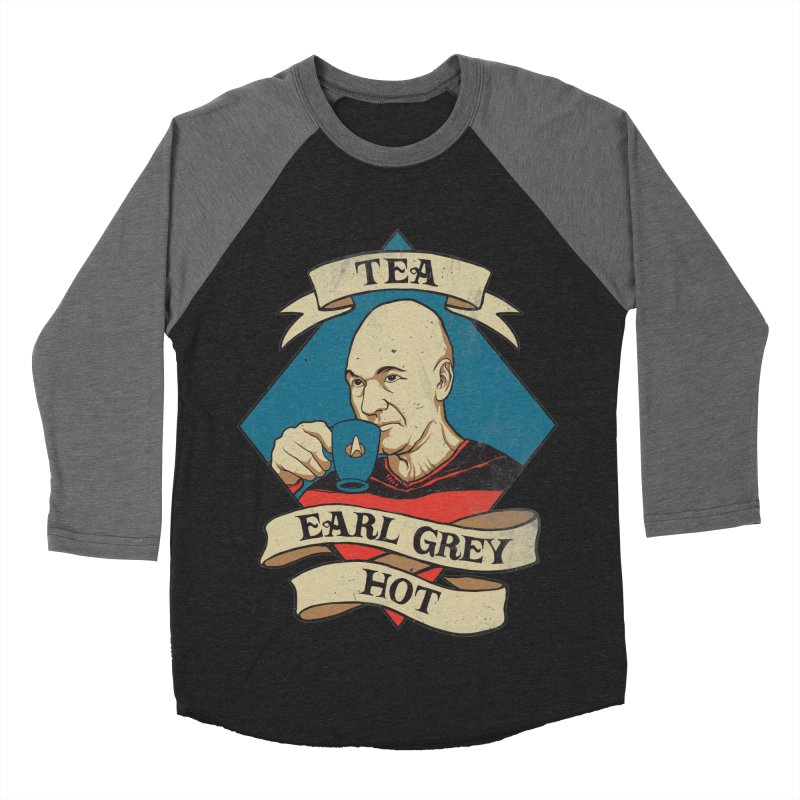 EARL GREY Women's Baseball Triblend T-Shirt by RGRLV