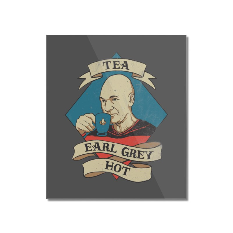 EARL GREY Home Mounted Acrylic Print by ROVO