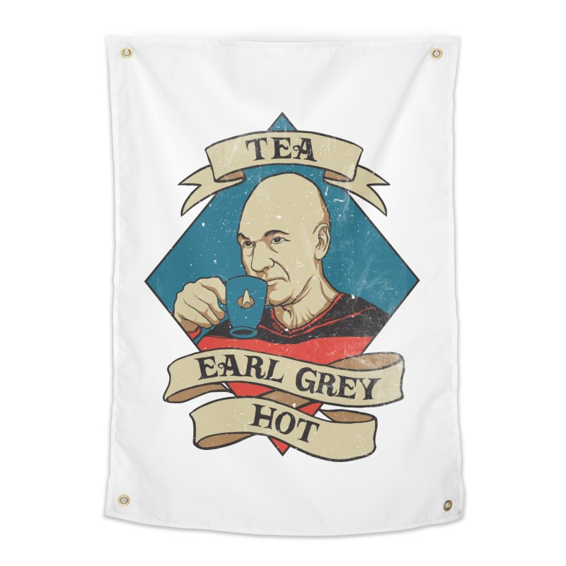 EARL GREY Home Tapestry by RGRLV