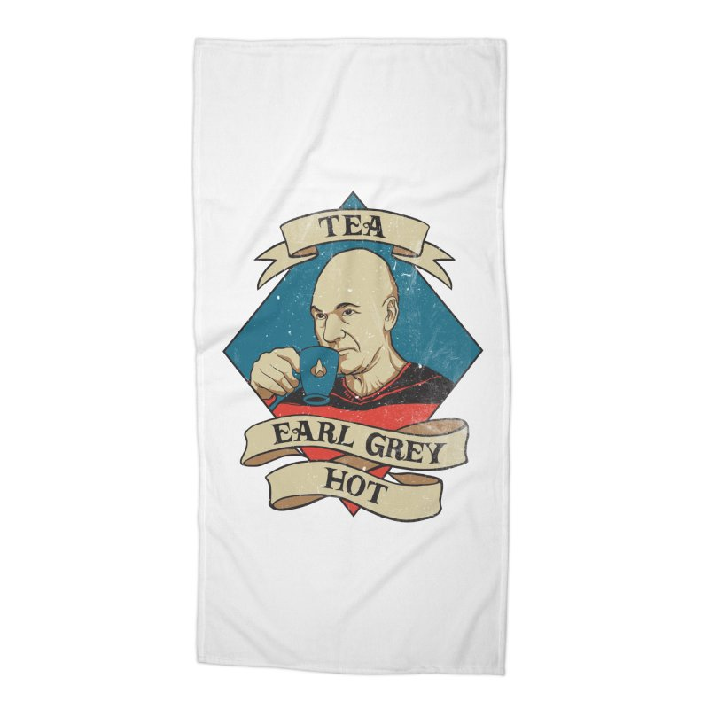 EARL GREY Accessories Beach Towel by RGRLV
