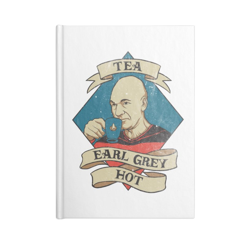 EARL GREY Accessories Notebook by RGRLV