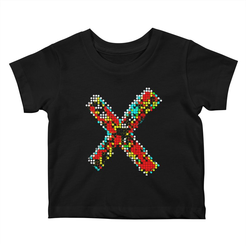 X Kids Baby T-Shirt by RHAD Shop