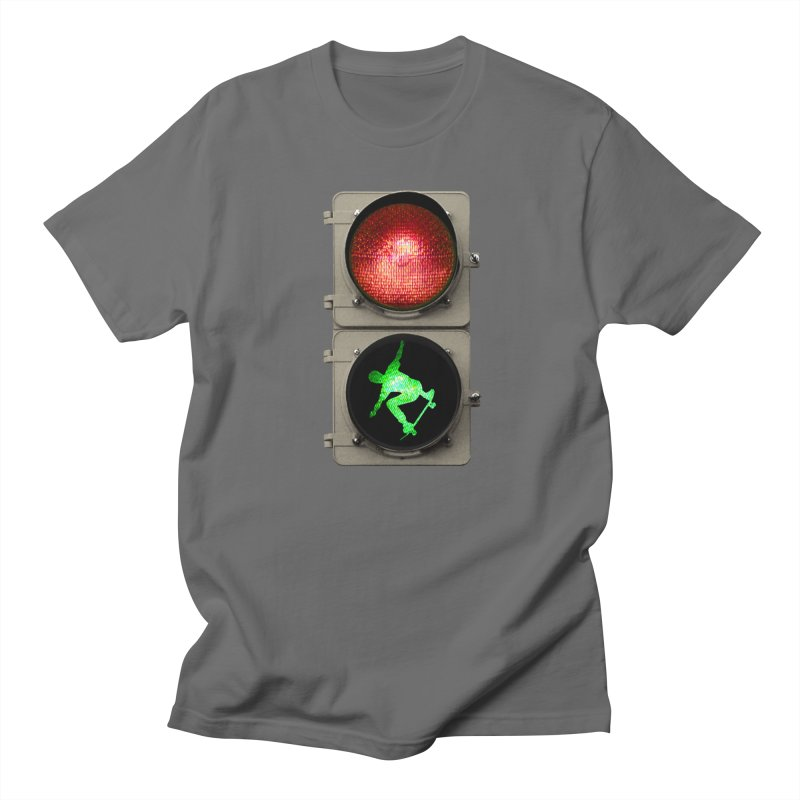 Skate, don´t go! Men's Regular T-Shirt by RHAD Shop