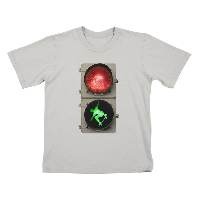 Skate, don´t go! Kids T-shirt by RHAD Shop