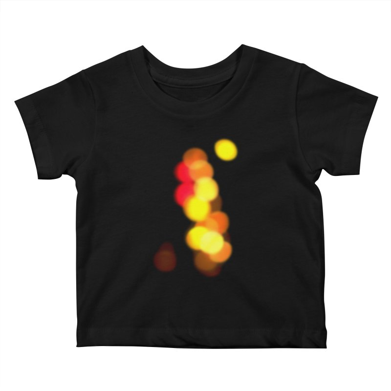 City Lights Kids Baby T-Shirt by RHAD Shop