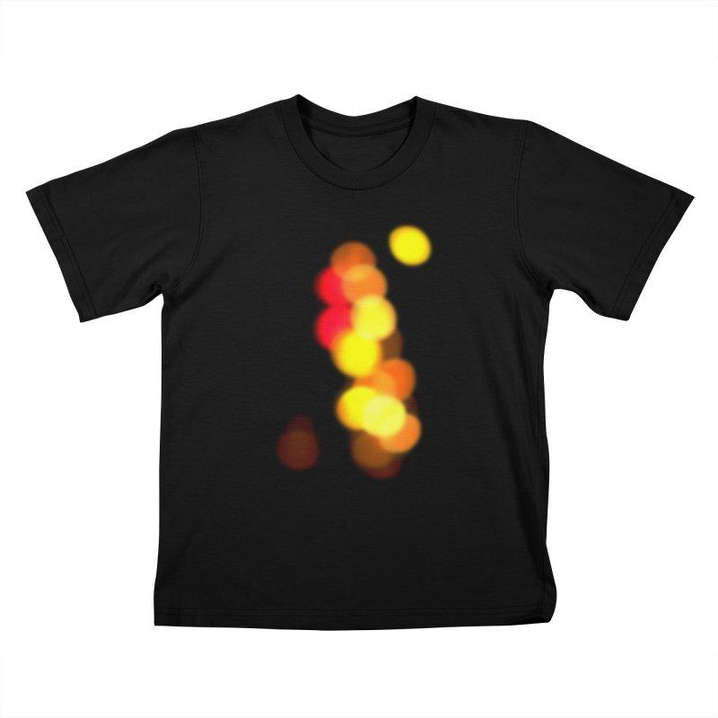 City Lights Kids T-shirt by RHAD Shop