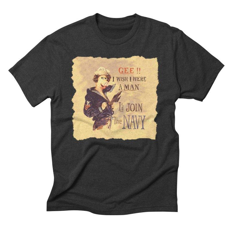Gee!! Men's Triblend T-shirt by RHAD Shop