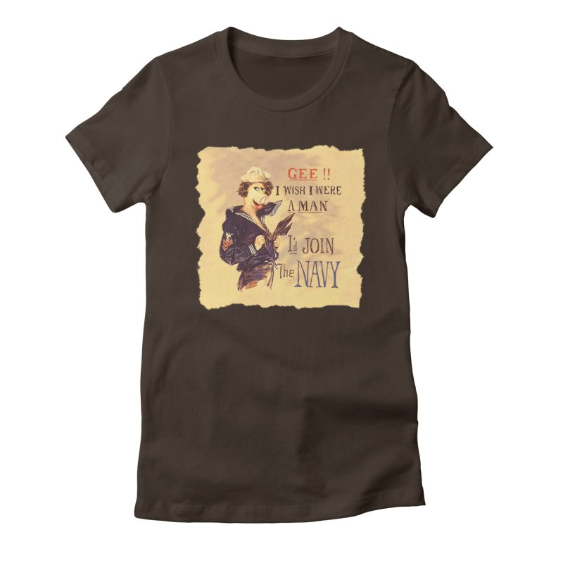 Gee!! Women's Fitted T-Shirt by RHAD Shop