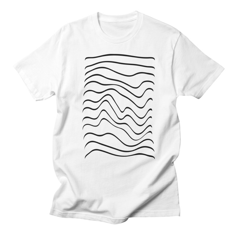 Wavelength White Men's T-shirt by RHAD Shop