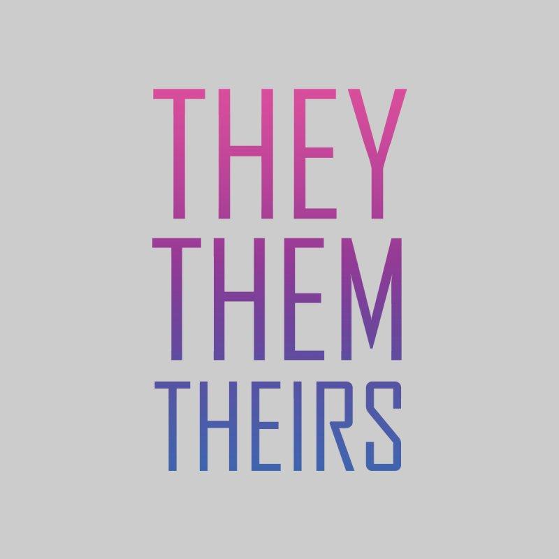 They/Them Bi Pride by Rhea Ewing's Artist Shop