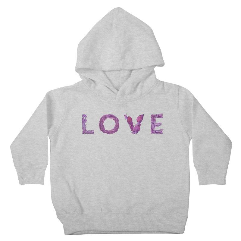 Love Kids Toddler Pullover Hoody by Rhea Ewing's Artist Shop