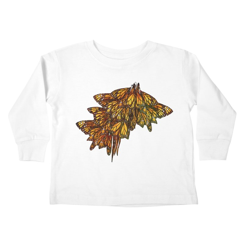 Cluster Kids Toddler Longsleeve T-Shirt by Rhea Ewing's Artist Shop
