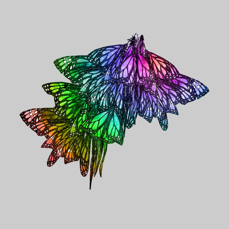 Rainbow Cluster by Rhea Ewing's Artist Shop