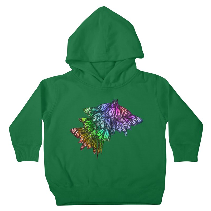Rainbow Cluster Kids Toddler Pullover Hoody by Rhea Ewing's Artist Shop