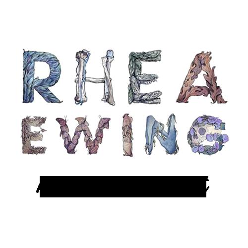 Rhea Ewing's Artist Shop Logo