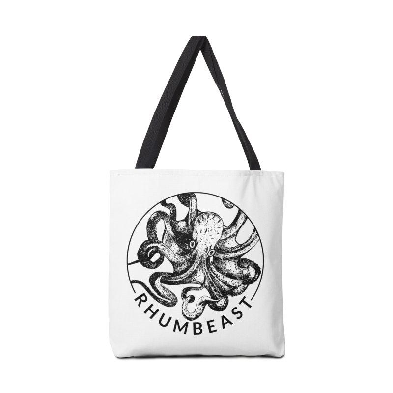 Classic Rhumbeast Black in Tote Bag by Rhumbeast Shop