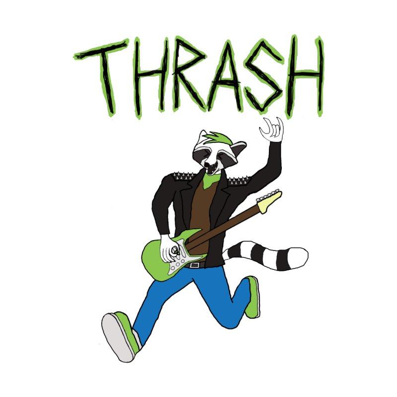 Thrash Panda T-Shirt Women's T-Shirt by Rhythm Bastard's Merch Booth
