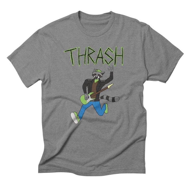 Thrash Panda T-Shirt Men's T-Shirt by Rhythm Bastard's Merch Booth