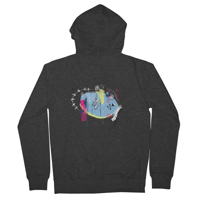 Yowo! Women's Zip-Up Hoody by riamizuko's Artist Shop