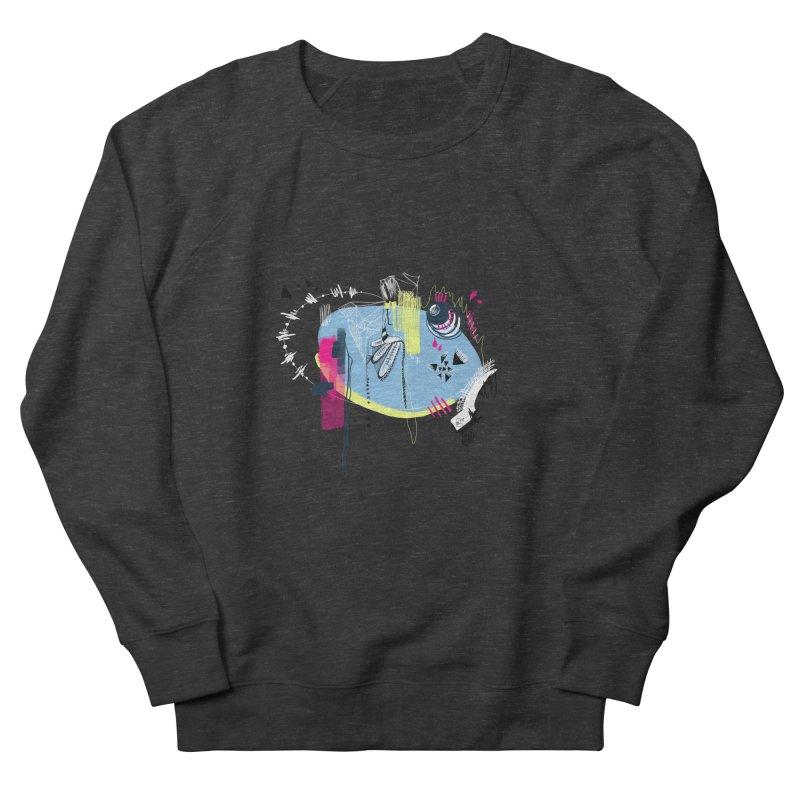 Yowo! Women's French Terry Sweatshirt by riamizuko's Artist Shop
