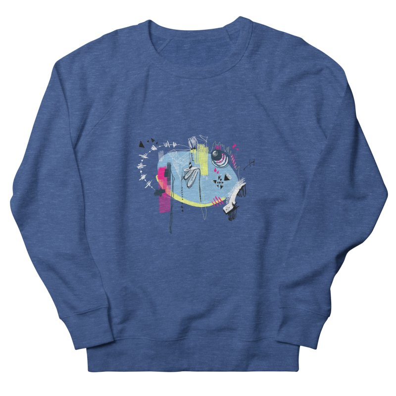 Yowo! Men's French Terry Sweatshirt by riamizuko's Artist Shop