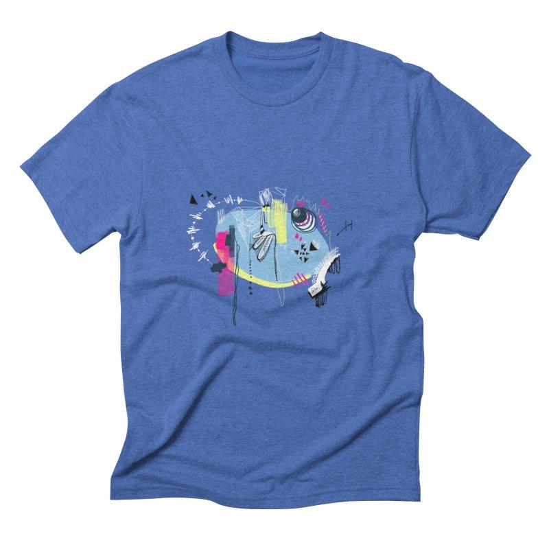 Yowo! Men's Triblend T-Shirt by riamizuko's Artist Shop