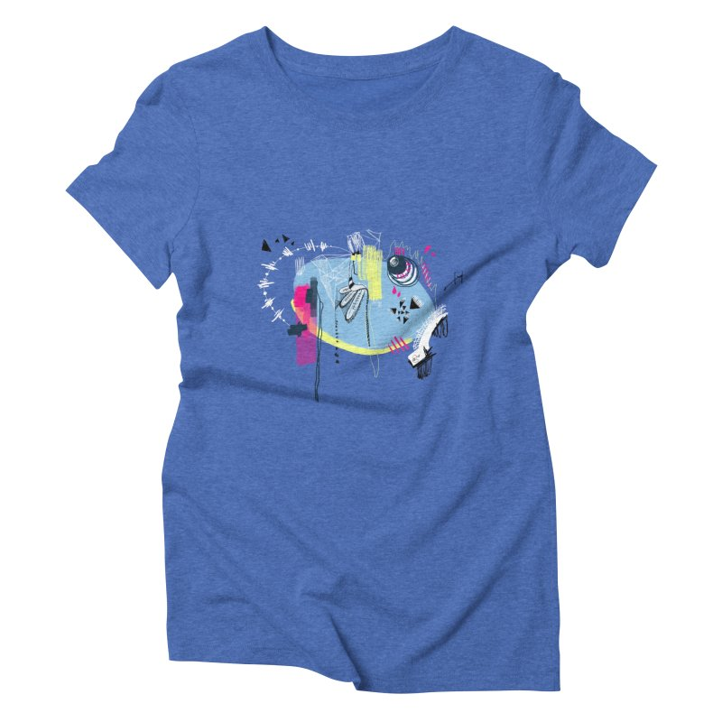 Yowo! Women's Triblend T-shirt by riamizuko's Artist Shop