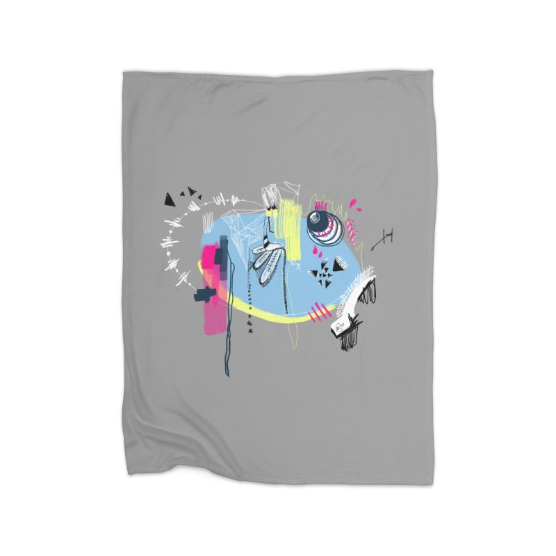 Yowo! Home Blanket by riamizuko's Artist Shop