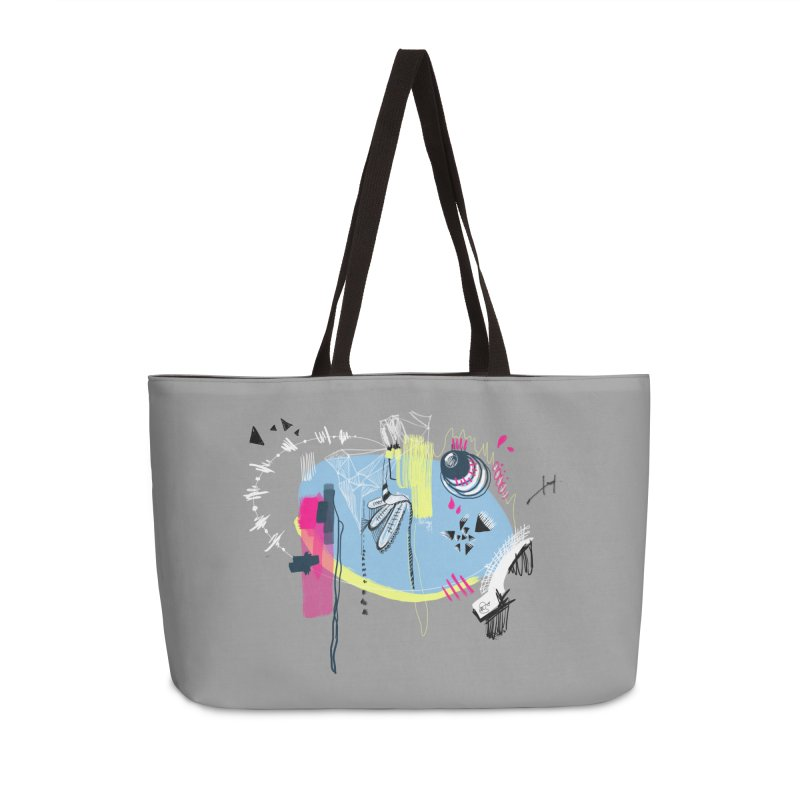 Yowo! Accessories Weekender Bag Bag by riamizuko's Artist Shop