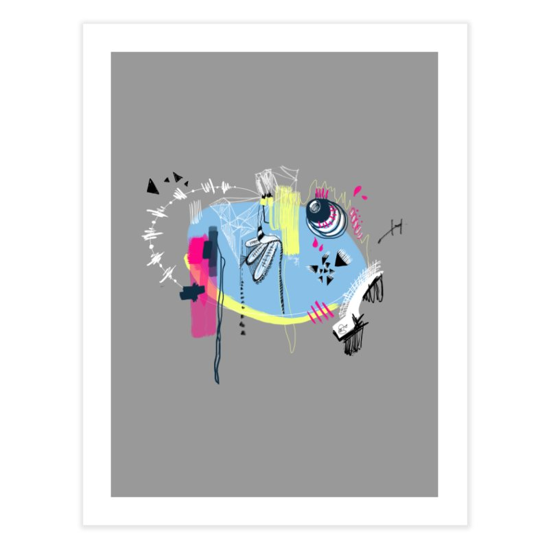 Yowo! Home Fine Art Print by riamizuko's Artist Shop